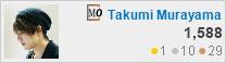 profile for Takumi Murayama at MathOverflow, Q&A for professional mathematicians